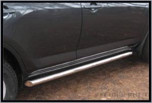 TOYOTA RAV 4 2006-2009 Пороги труба d76 (вариант 1) R4T-0000501